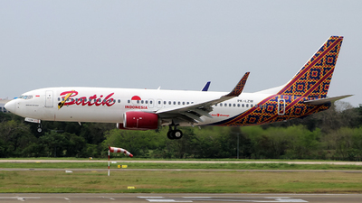 A picture of PKLZW - Boeing 7378GP - Batik Air - © APhotography