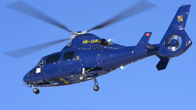 HB-ZDR - Eurocopter AS 365N3 Dauphin - Private