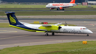 A picture of HBJIK - De Havilland Canada Dash 8400 - [4265] - © Pawel Kierzkowski