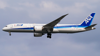 A picture of JA830A - Boeing 7879 Dreamliner - All Nippon Airways - © Haneda Spotter