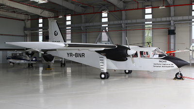 YR-BNR - Britten-Norman BN-2A-27 Islander - INCAS / National Institute for Aerospace Research - Romania
