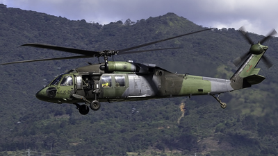 EJC2165 - Sikorsky S-70A-30 Blackhawk - Colombia - Army
