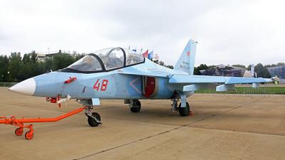 RF-44445 - Yakovlev Yak-130 - Russia - Air Force