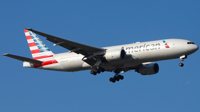 A picture of N780AN - Boeing 777223(ER) - American Airlines - © SimonSun