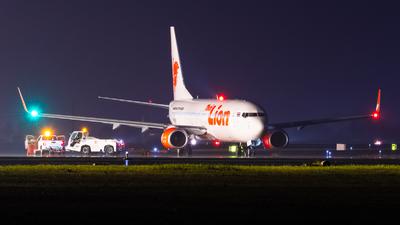 A picture of HSLUP - Boeing 7378GP - Thai Lion Air - © Amarase Pamarapa