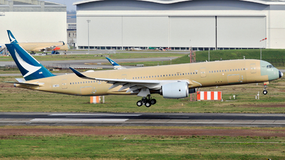 F-WZFO - Airbus A350-941 - Airbus Industrie