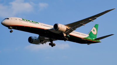 A picture of B17807 - Boeing 78710 Dreamliner - EVA Air - © Predic. LXY!