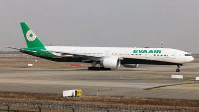 A picture of B16737 - Boeing 7773AL(ER) - EVA Air - © Jiaming