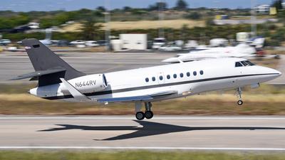 N644RV - Dassault Falcon 2000 - Private