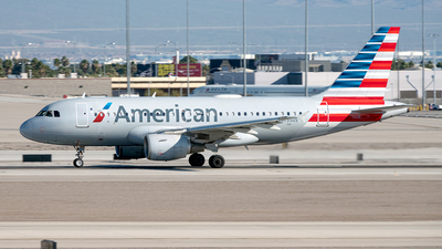 A picture of N755US - Airbus A319112 - American Airlines - © Yan777