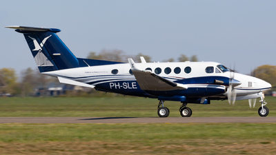 PH-SLE - Beechcraft B200 Super King Air - Slagboom & Peeters Aerial Photography