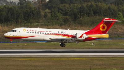 B-603Z - COMAC ARJ21-700 - Chengdu Airlines