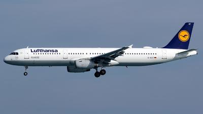 D-AIST - Airbus A321-231 - Lufthansa