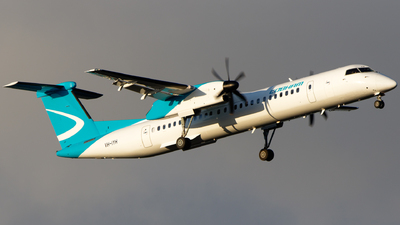 A picture of VHIYH - De Havilland Canada Dash 8400 - National Jet Express - © Will T