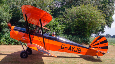 A picture of GAYJB - Stampe SV4C - [560] - © Brian Whitelegg