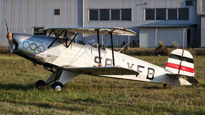 SP-YFB - Bücker 131 Jungmann - Private