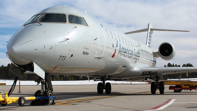 A picture of N773SK - Mitsubishi CRJ701ER - American Airlines - © Alexander Aston