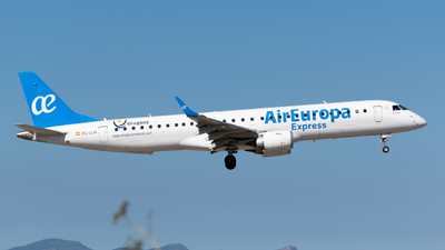 A picture of ECLLR - Embraer E195LR - Air Europa - © Alberto Plá
