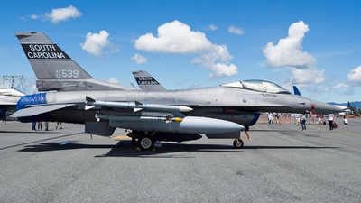93-0539 - Lockheed Martin F-16CM Fighting Falcon - United States - US Air Force (USAF)