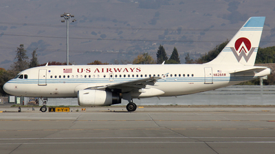 N828AW - Airbus A319-132 - US Airways