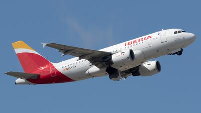 EC-JXV - Airbus A319-112 - Iberia