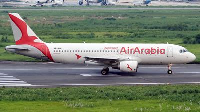A picture of A6AUA - Airbus A320214 - Air Arabia - © Raihan Ahmed