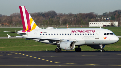 A picture of DAKNO - Airbus A319112 - Eurowings - © Alexander Schürmann