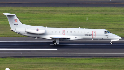 2112 - Embraer ERJ-135LR - Thailand - Royal Thai Navy