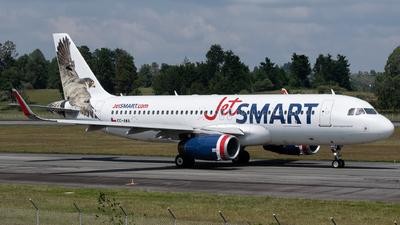 CC-AWA - Airbus A320-232 - JetSmart