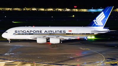 A picture of 9VSKJ - Airbus A380841 - Singapore Airlines - © Sebastian Ng
