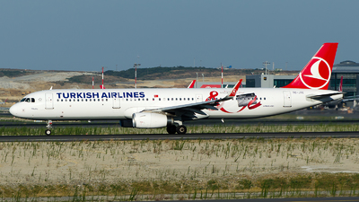 TC-JTE - Airbus A321-231 - Turkish Airlines