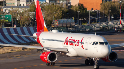 N685TA - Airbus A320-233 - Avianca Central America