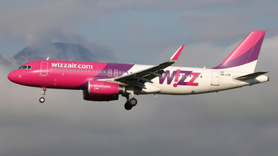 A picture of HALYK - Airbus A320232 - Wizz Air - © Karl Dittlbacher