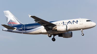 CC-BCD - Airbus A319-112 - LAN Airlines