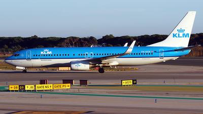 PH-BXM - Boeing 737-8K2 - KLM Royal Dutch Airlines