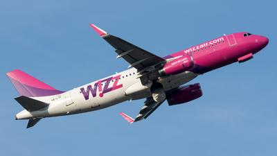 HA-LYF - Airbus A320-232 - Wizz Air