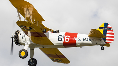 PR-PQD - Boeing A75N1 Stearman - Private