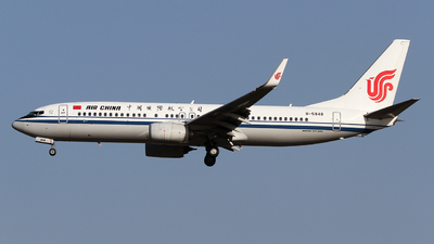 B-5848 - Boeing 737-89L - Air China