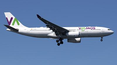 A picture of ECMAJ - Airbus A330243 - Wamos Air - © Mark Szemberski