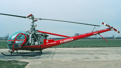 G-BBBA - Hiller UH-12E - Bond Helicopters