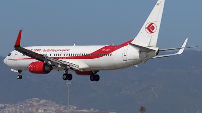 7T-VKF - Boeing 737-8D6 - Air Algérie
