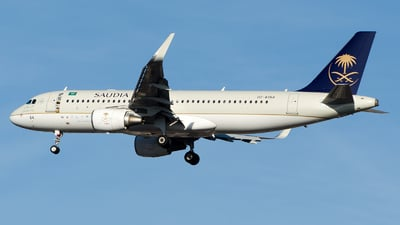 HZ-AS64 - Airbus A320-214 - Saudi Arabian Airlines