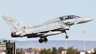 CE.16-05 - Eurofighter Typhoon EF2000(T) - Spain - Air Force
