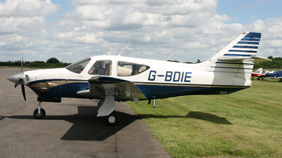 G-BDIE - Rockwell Commander 112A - Private