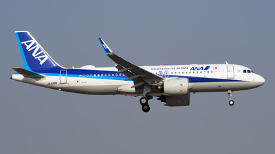 JA220A - Airbus A320-271N - All Nippon Airways (ANA)