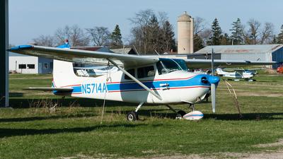 A picture of N5714A - Cessna 172 Skyhawk - [28314] - © SpotterPowwwiii