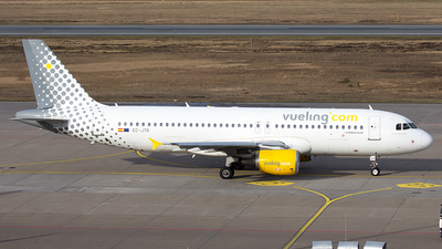 A picture of ECJTR - Airbus A320214 - Vueling - © Thomas Rosskopf