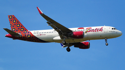 PK-LAV - Airbus A320-214 - Batik Air
