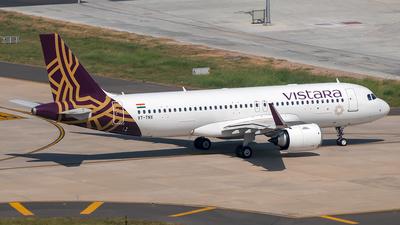 VT-TNX - Airbus A320-251N - Vistara