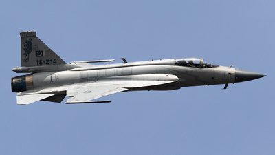 16-214 - Chengdu JF-17 Thunder - Pakistan - Air Force